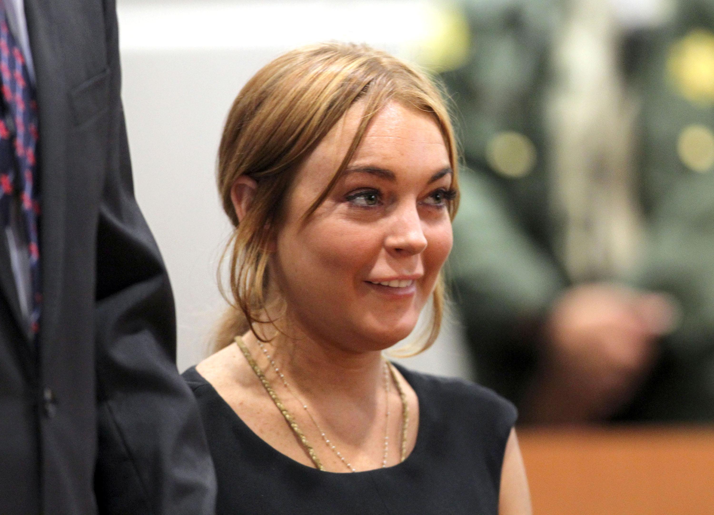 Lindsay lohan vigina